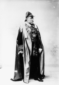 Sir William MacGregor in ceremonial gown as Governor of Queensland